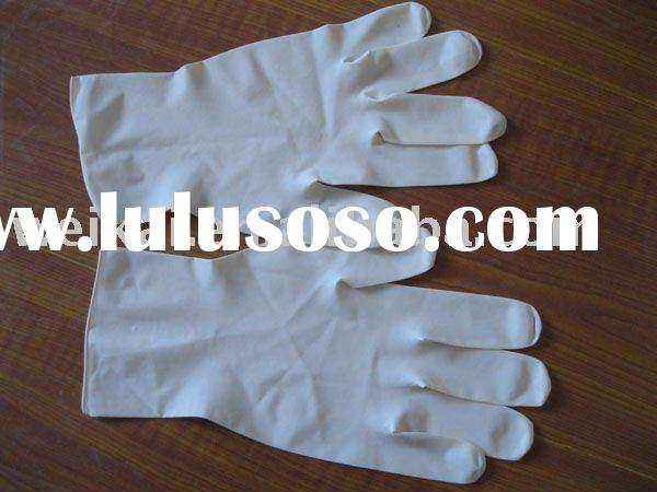 disposable sterile medical latex gloves