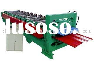 double deck roll forming machine,double-skin forming machine,double sheet roll forming machine