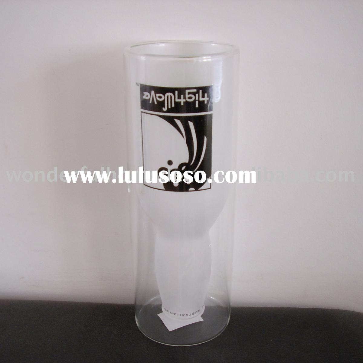double wall beer glass