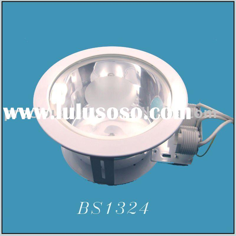 downlight 2x18W round iron recessed lighting fixture