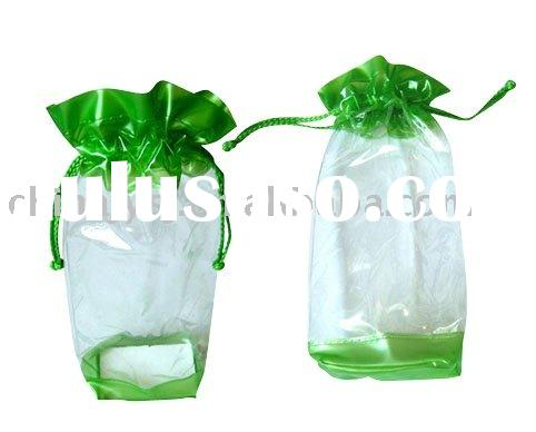 drawstring pvc bag for candy packing