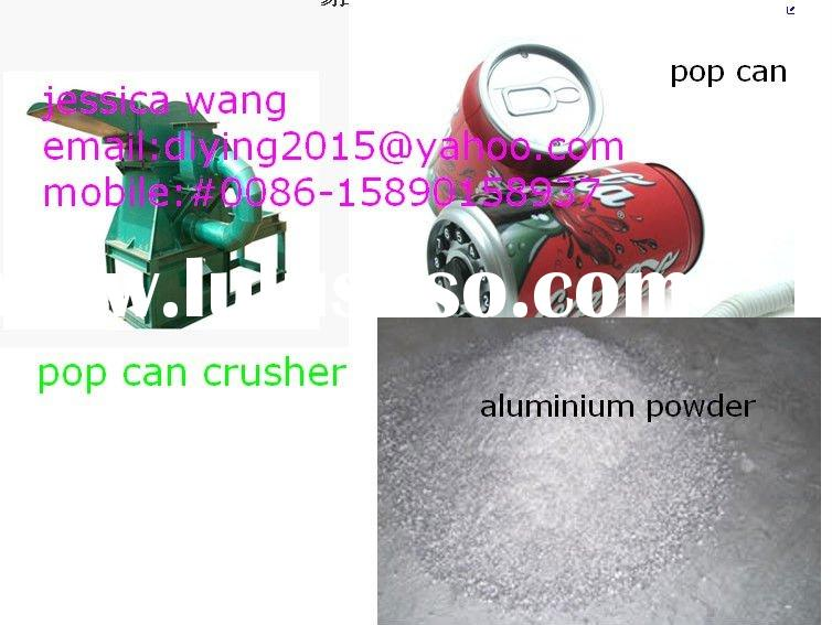 electric pop can crusher