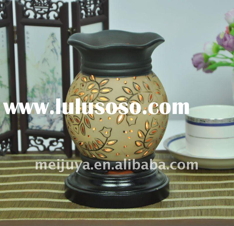 electricity fragrance lamp, oil burner, oil warmer, aroma