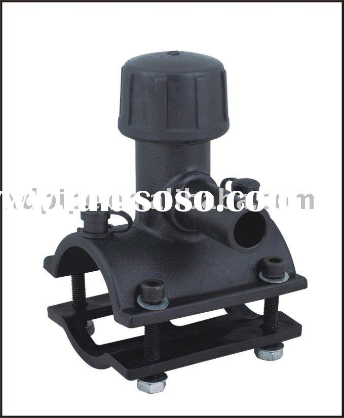 Tapping saddle pe pipe fittings