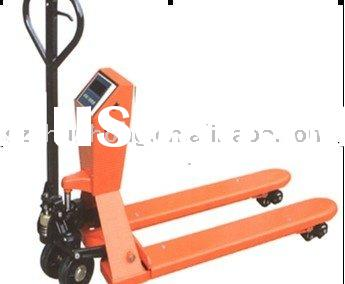 electronic scales manual pallet jack