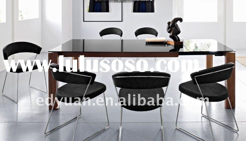 extension dining table and chair KT008