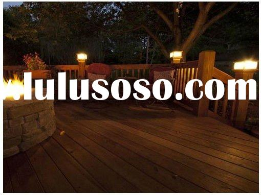 extruded Wood Decking Flooring boards Ecological WPC composite decking for pool or garden