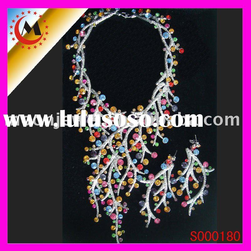 fashion costume jewelry, jewelry set