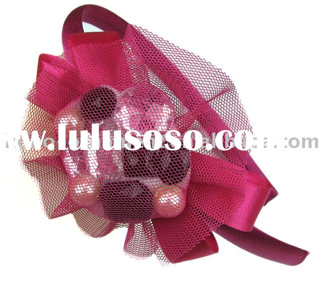 fashion flower headband/lovely hair accessory