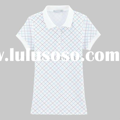 fashion plus size women polo shirts