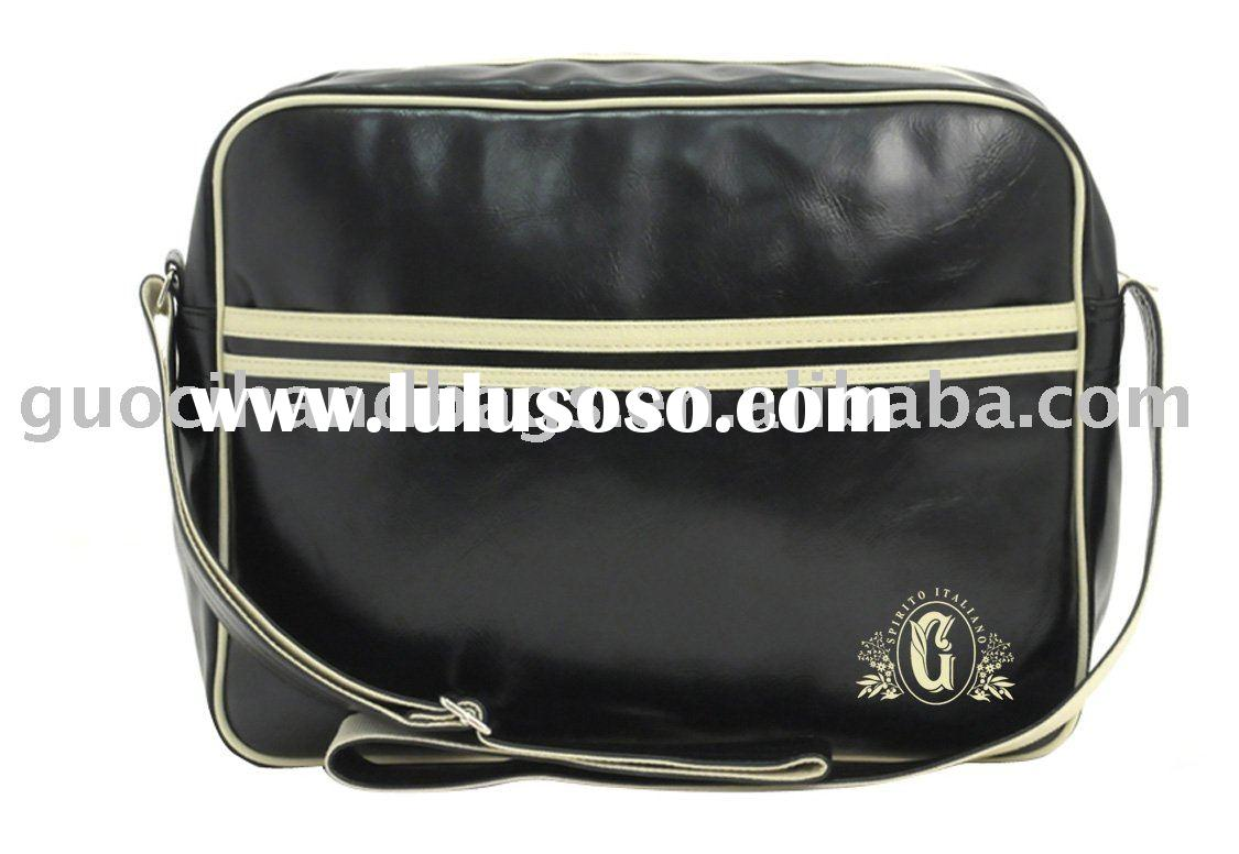 fashion shoulder bag / messenger bag / pvc shoulder bag