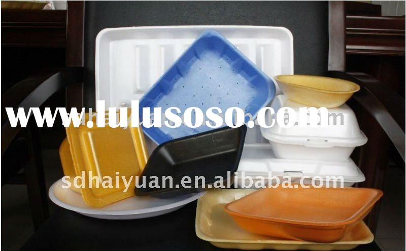 foam polystyrene disposable food box production line