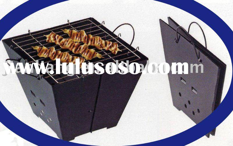 folding barbecue grills