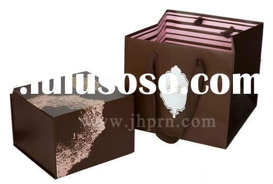 food paper packaging box and bag