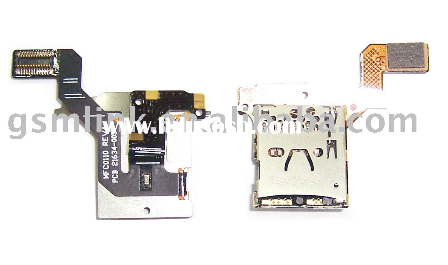 for BLACKBERRY 9700 mobile phone sim card connector