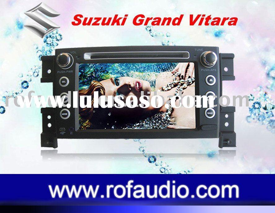 for Suzuki Grand Vitara car dvd with gps navigation system