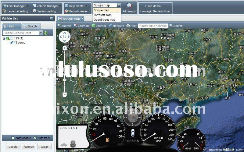 for vehicle and person,real time,platform,sofware,gps tracking system