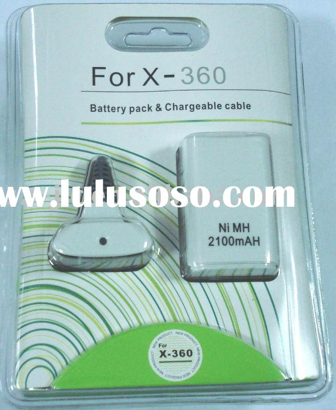 for xbox 360 battery pack (Charging cable & Rechargeable Battery)