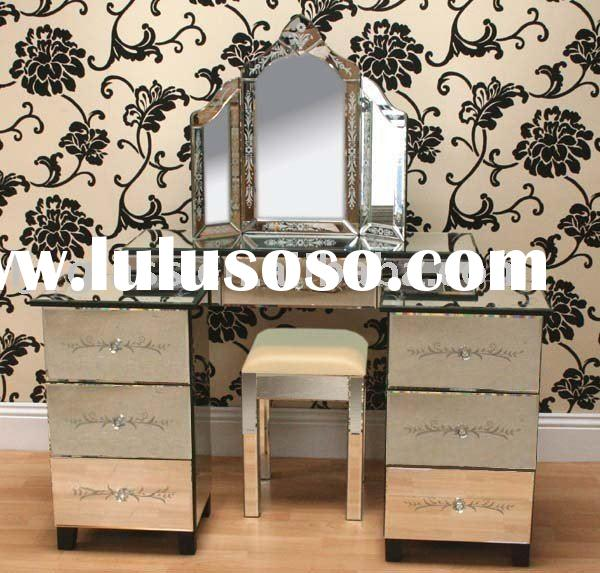 Mirrored Glass Dressing Table images