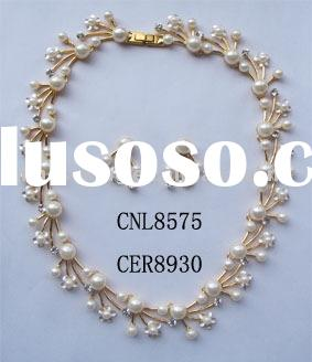 gold jewelry sets,elegant pearl necklace sets,inexpensive necklace sets,hot jewelry sets,new design