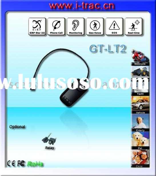 gps motorcycle alarm and tracker with online gprs web based tracking software