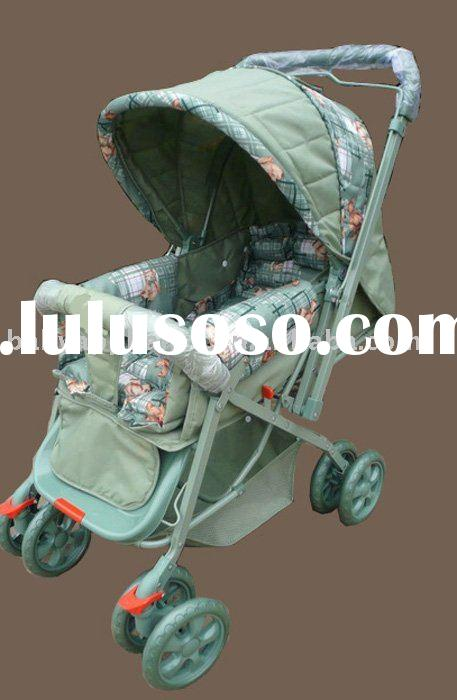 green baby stroller/ jogger/walker/ carriage/ green 2002-1