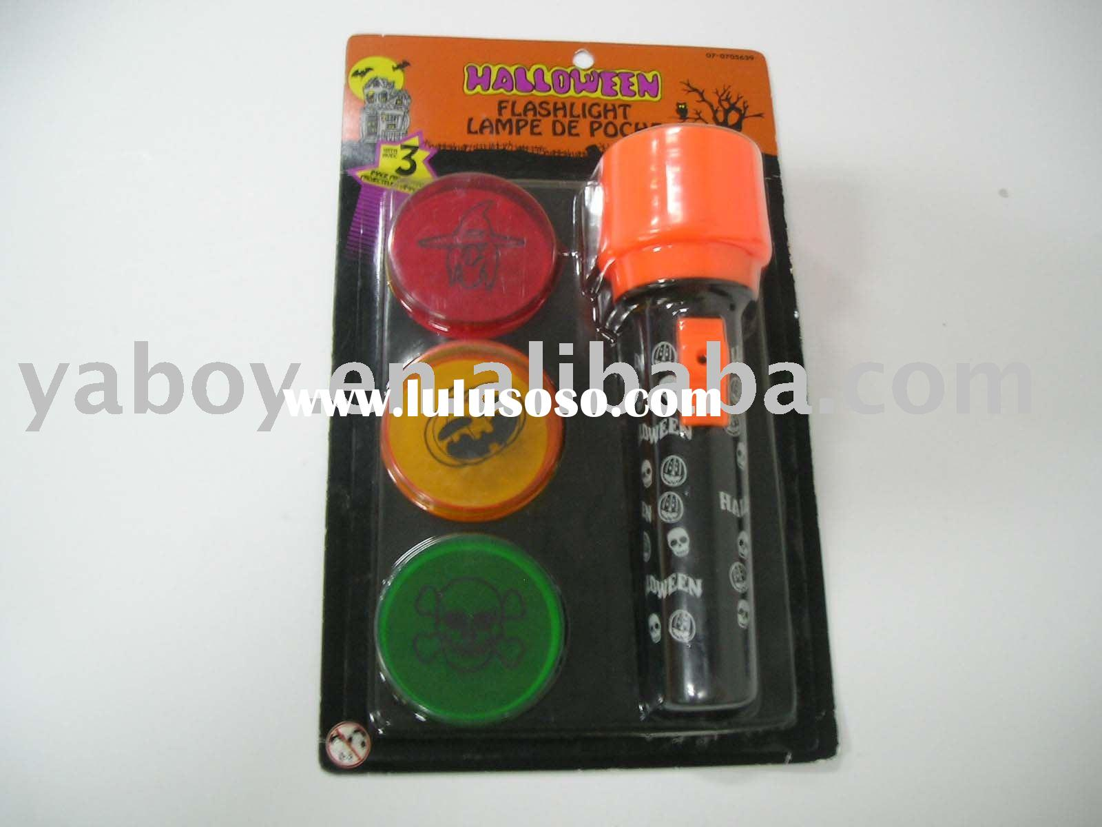 halloween flashlight,Halloween projection flashlight,projector torch,projector flashlight