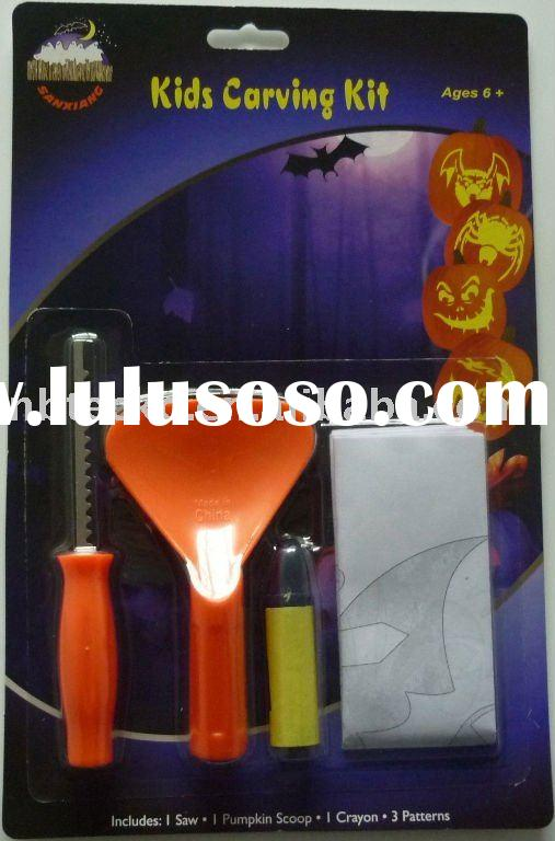halloween party / deluxe pumpkin carving kit
