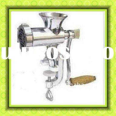 handle/manual meat grinder