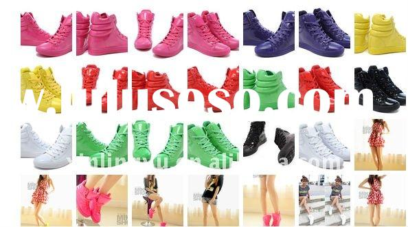 high fashion hip-hop many color shoes/ top design footwear