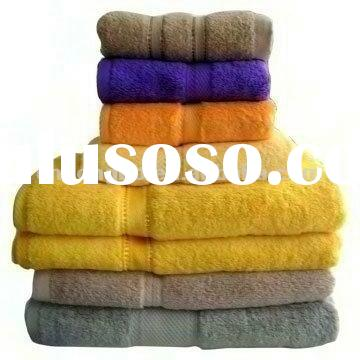 high quality bamboo towel set