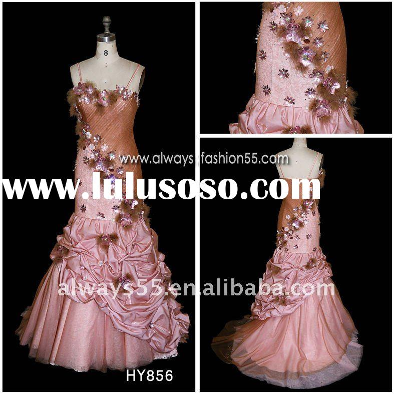 high quality formal evening dress for kids hy856