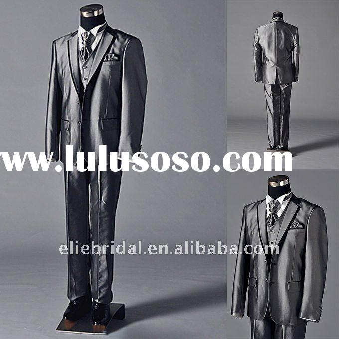 high quality men's tuxedo wedding suits 6 parts real photoes