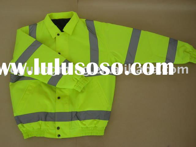 high visibility reflective safety garments