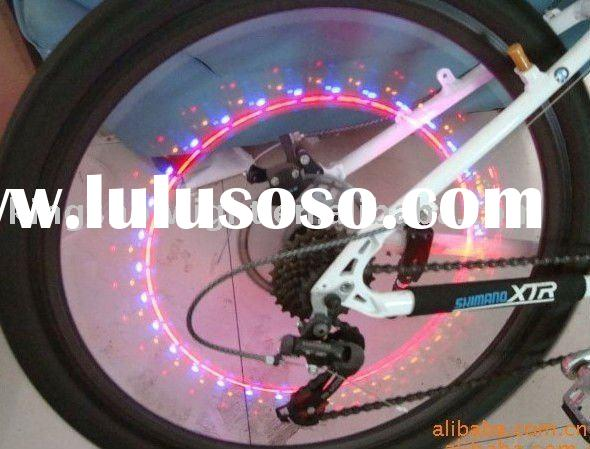 hot sell led wheel light flash light on bike /auto /motorcycle