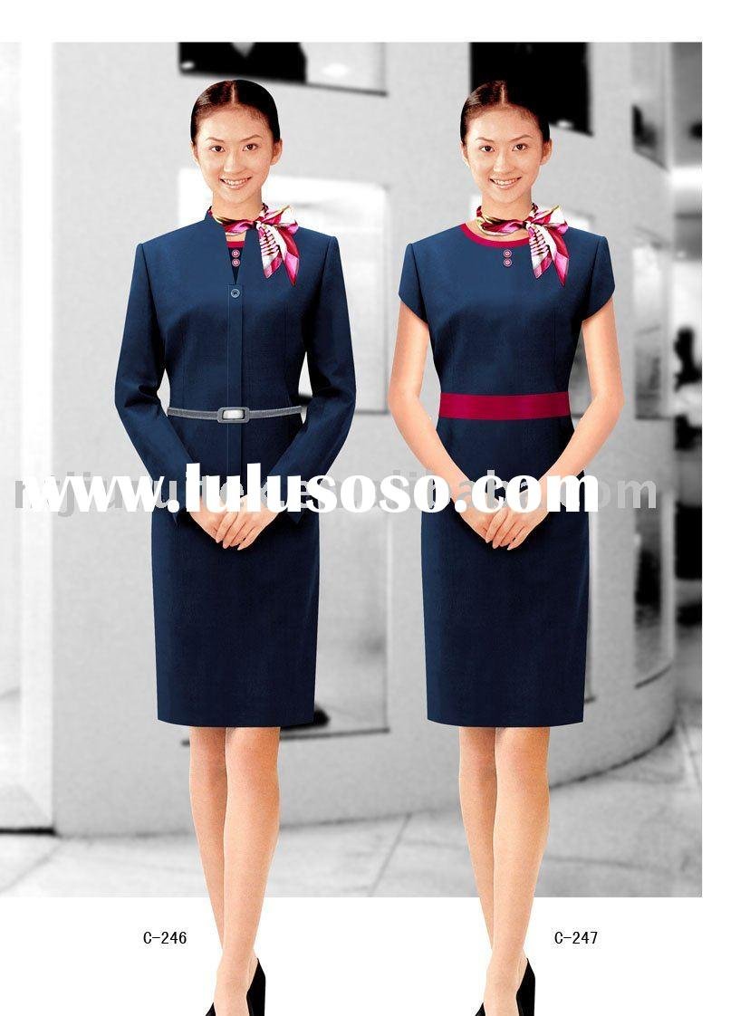 hotel receptionist uniform