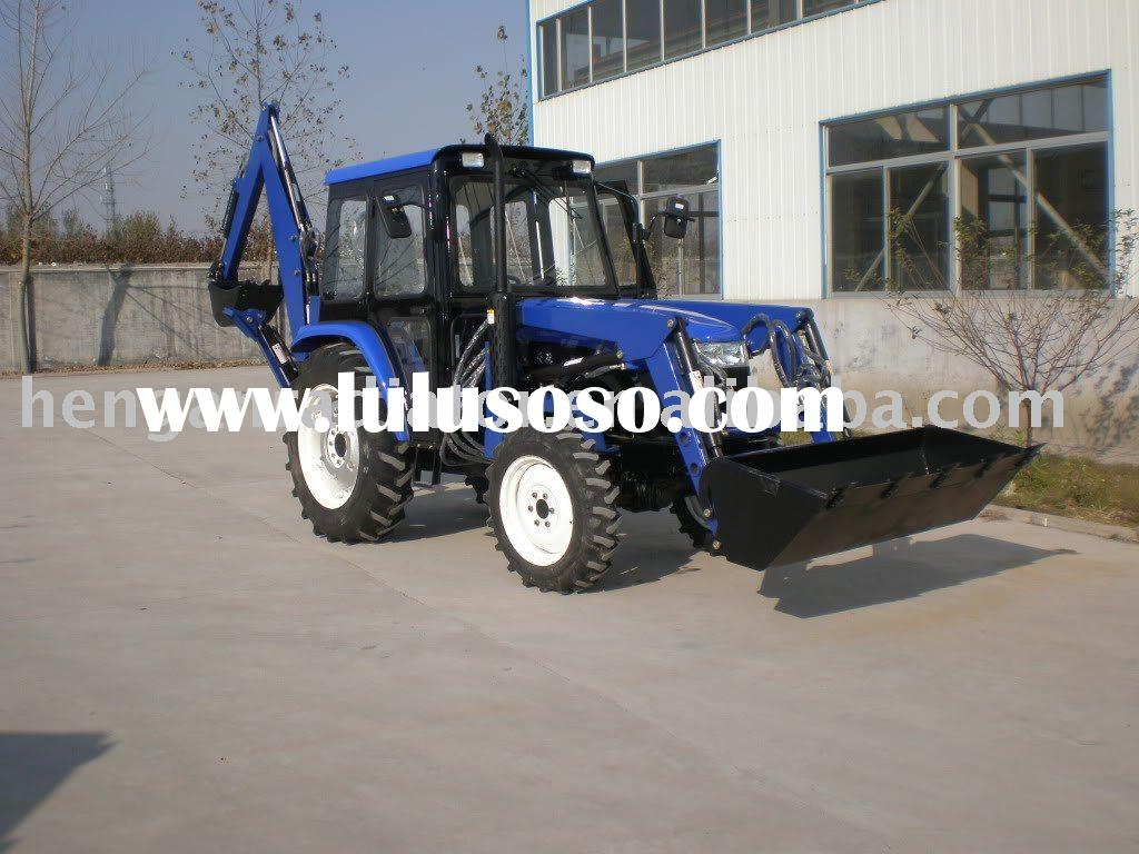 hydraulic tractor front end loader and pto backhoe loader