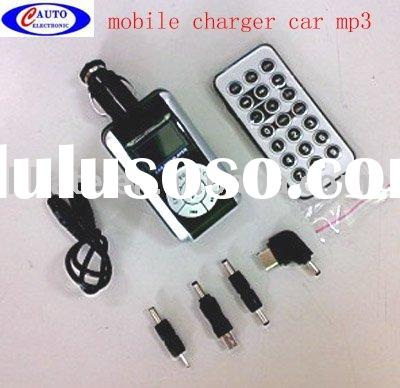in car mp3 player fm transmitter output 5V 500 mA mobile charger