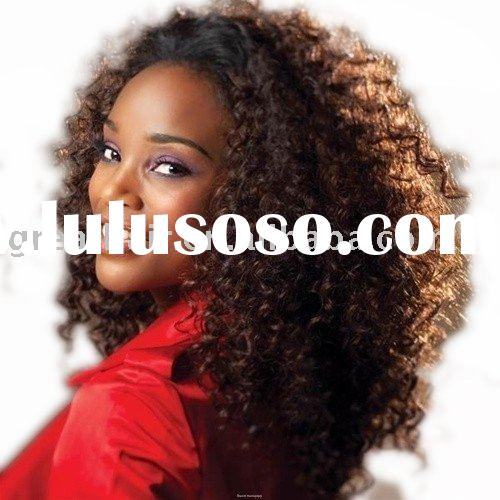 indian remy human hair full lace wigs 18 inch jerry curl