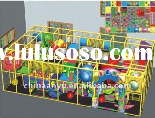 indoor kids playground equipment slide set soft play