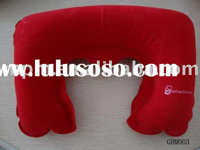 inflatable pillow(air neck pillow,travel pillow)