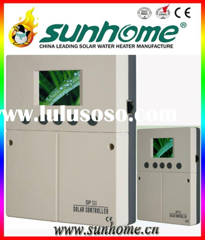 intelligent solar controller SPIII,solar water heating system controller
