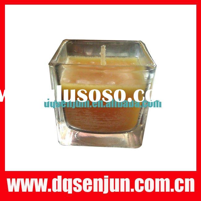 jar candle with color box ,gift scenetd candle,fragrance candle