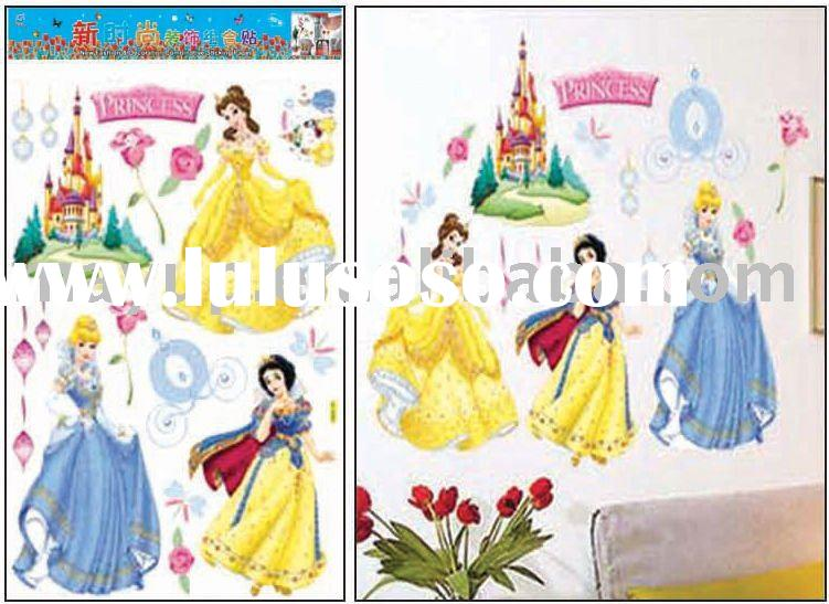kids bedroom wall sticker- princess in my room