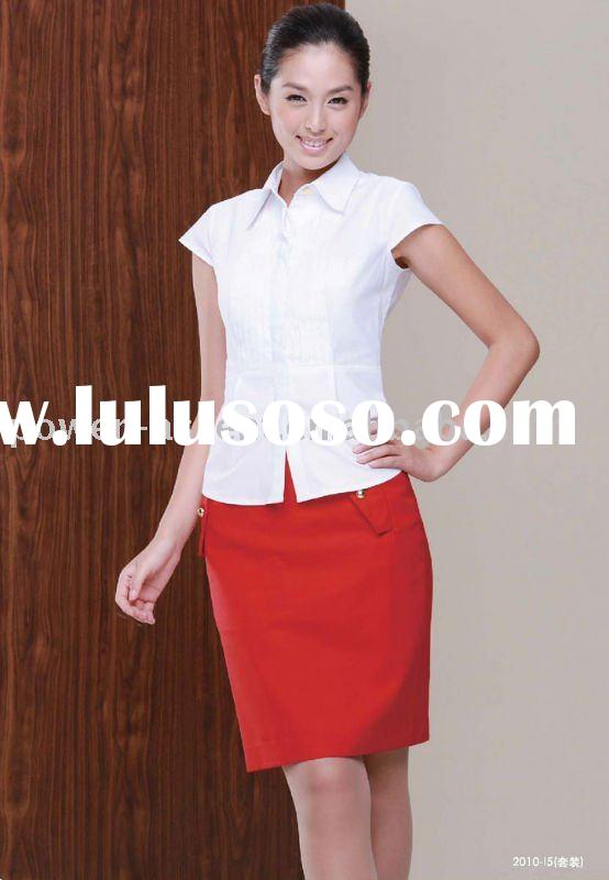 ladies working suit summer office uniform