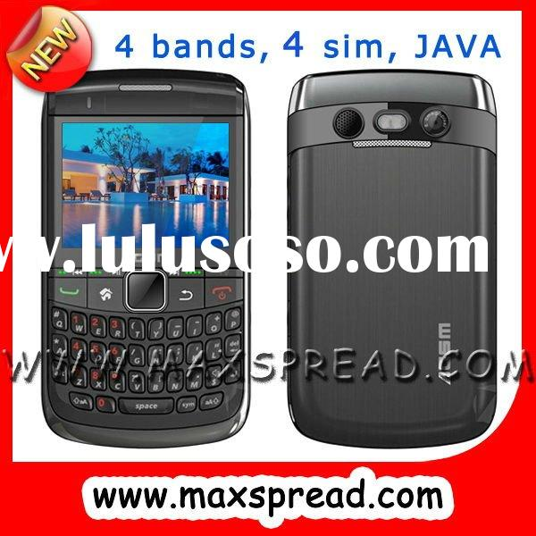 large loudspeaker 4 SIM Card cell phone with TV