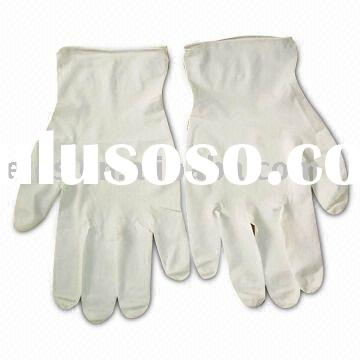 latex gloves, clean room latex glove, disposable glove, surgical glove