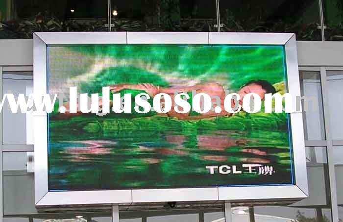 lcd screen advertising outdoor