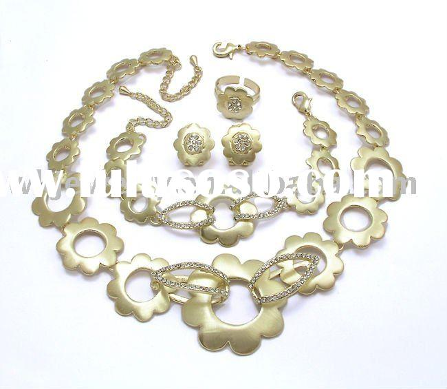 lead and nickel safe alloy fashion jewelry sets