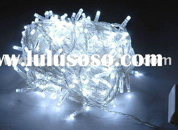 led twinkle string light(clear)/indoor and outdoor decoration